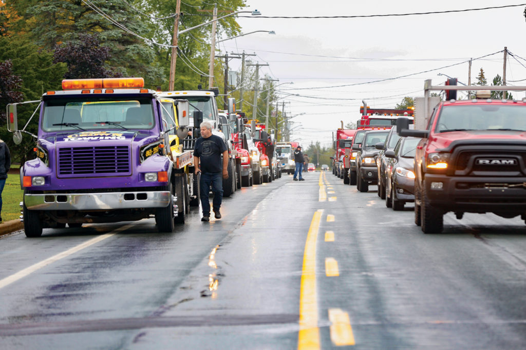 Towing Community Honours Fallen Operator