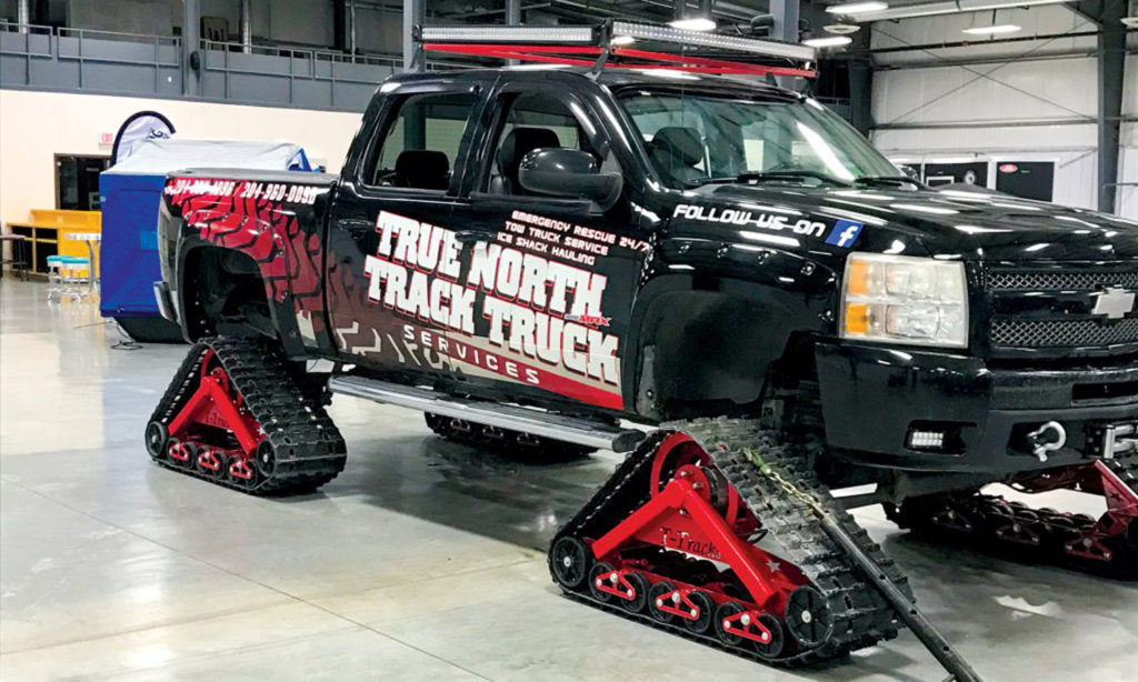 Track Truck For Winter Ice Towing