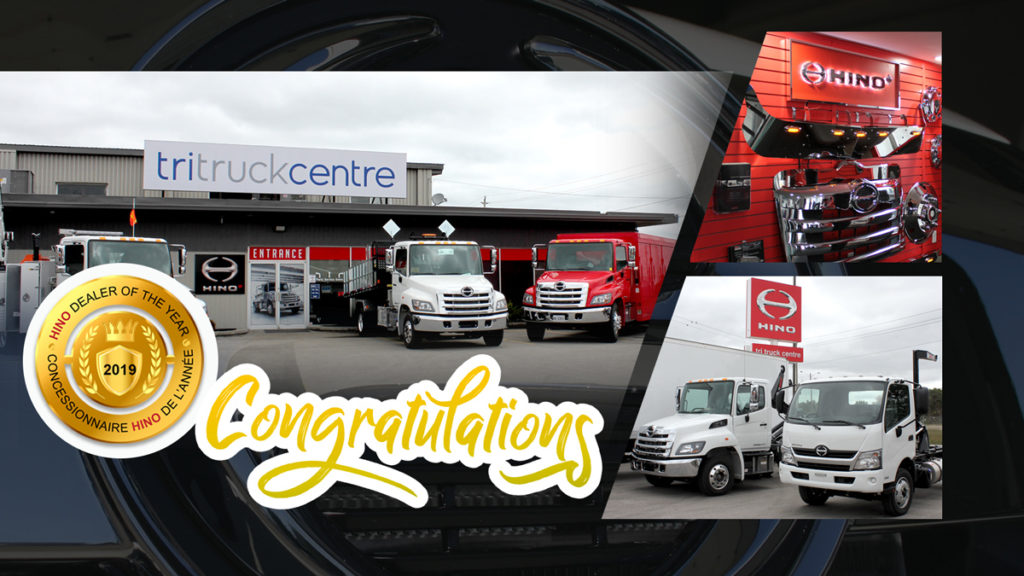 Hino Awards 2019 Dealer of the Year