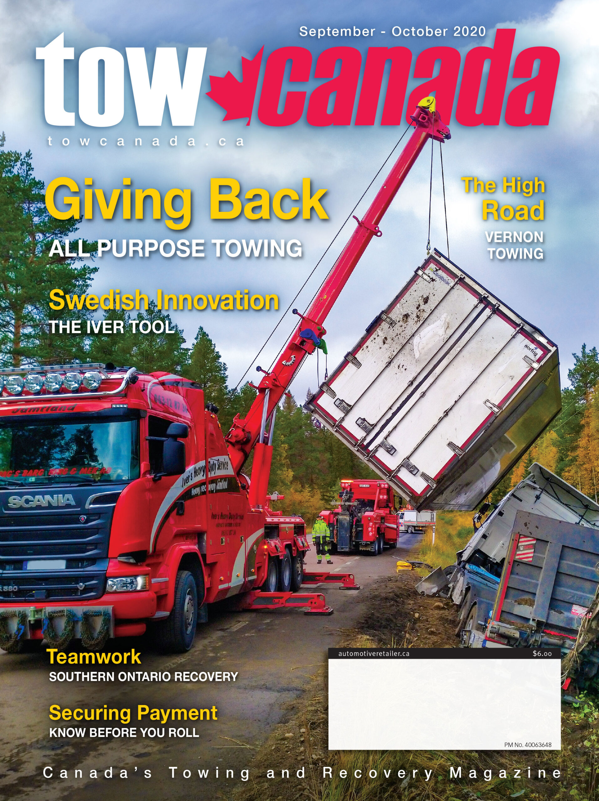 Tow Canada, July-August 2020