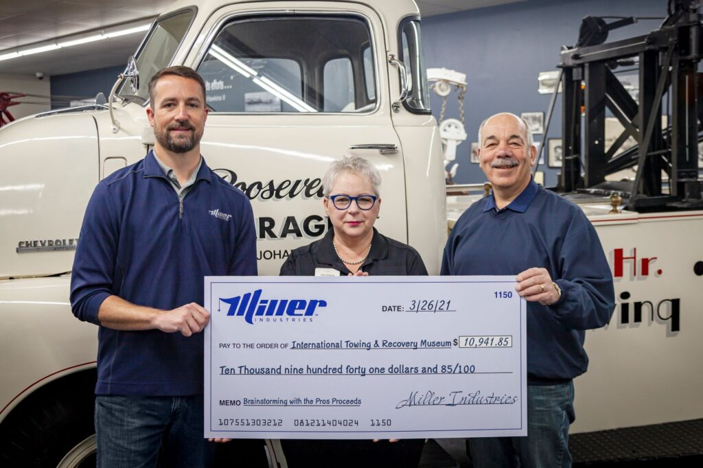 Helping the International Towing Museum in Turbulent Times
