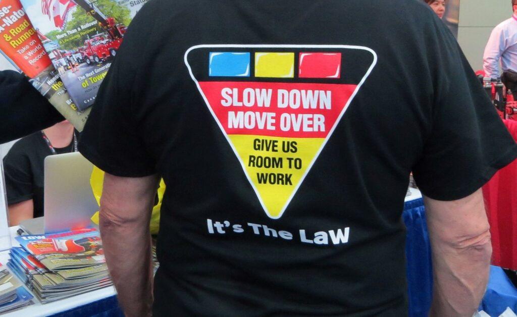 Ontario Tow Operators Organize Slow Down Move Over BBQ
